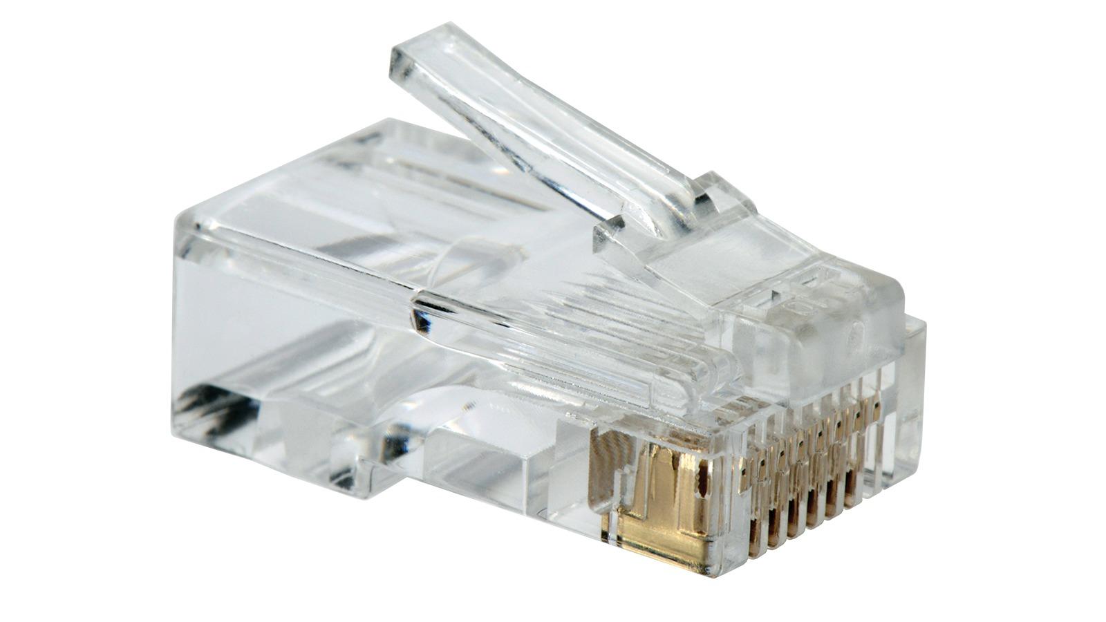 Conectoare, accesorii pentru cabluri de tip LAN